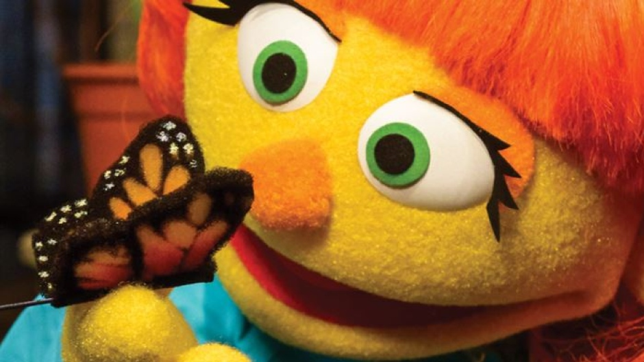 World Autism Awareness Day is coming, and so is Sesame Street's newest resident: Julia!
