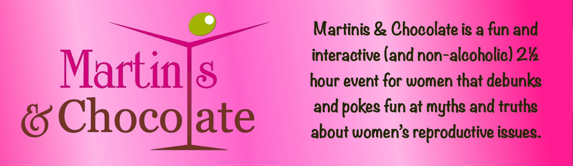birds bees connection martinis chocolate