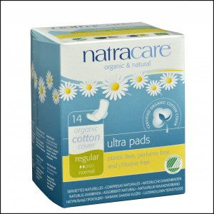 782126003058 Natracare Ultra Pad w wings Regular