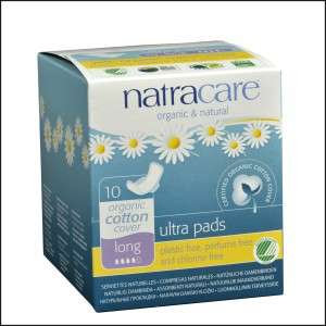 782126003102 Natracare Ultra Pad w wings Long