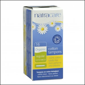 782126008008 Natracare organic cotton tampons Regular w appl