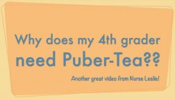 Why does my 4th grader need puber-tea