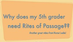 Why does my 5th grader rites of passage crop